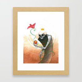 maybe this apple Framed Art Print