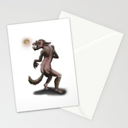 Hombre Lobo / Wolfman Stationery Cards