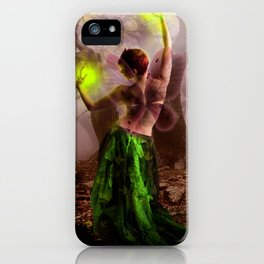 Dance of the lonely Fairy iPhone Case