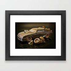 Mad Max Interceptor Framed Art Print
