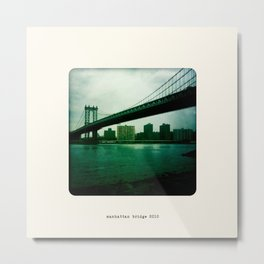 Manhattan Bridge 2010 Metal Print