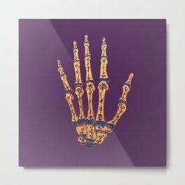 Hand Terrarium Metal Print