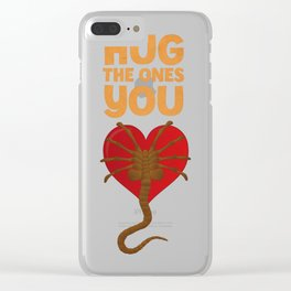 Facehugger Clear iPhone Case