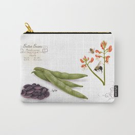 Butter Beans and Pollinators Carry-All Pouch