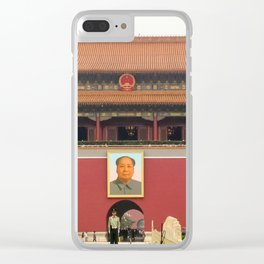 Forbidden City Southern Gate Clear iPhone Case