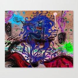 pin up -lowar Canvas Print
