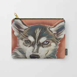 Alaskan Malamute Puppy Carry-All Pouch