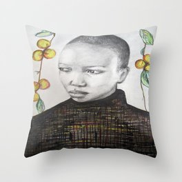 pêche Throw Pillow