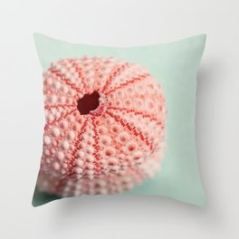 sea urchins series no 1 Throw Pillow