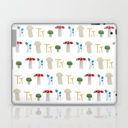 Mushroom Pattern Laptop & iPad Skin