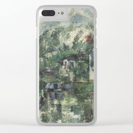 Paul Cézanne - At the Waters Edge - French Postimpressionist Fine Art - Cezanne Clear iPhone Case