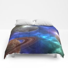 Space Expedition Comforters