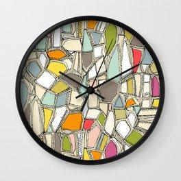 BROKEN POP Wall Clock