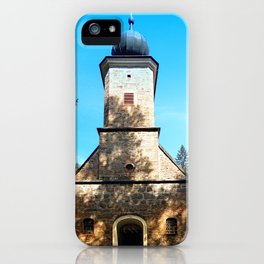 Maria Rast forest chapel 2 iPhone Case