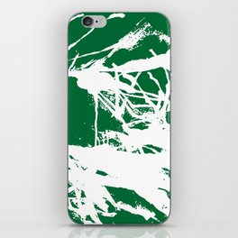 Green Base iPhone Skin