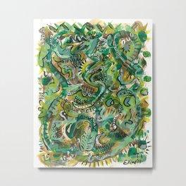 Acrylic Painting - Abstract 6 Metal Print