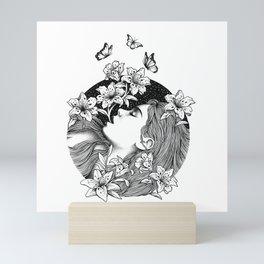 BLOOMING Mini Art Print