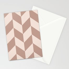 Parallelogram Pattern 4 Stationery Cards