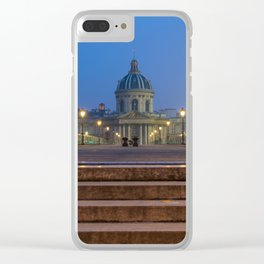 Pont des arts Paris Clear iPhone Case