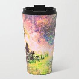 Fantasy Garden Path Deep Pastels Travel Mug