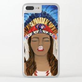 Native Inhale Clear iPhone Case