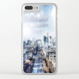 Paris - La Défense Clear iPhone Case