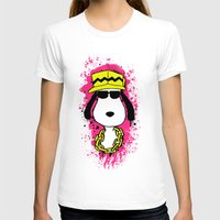 snoopy T-shirts featuring Snoopy Dog by Mateus Quandt