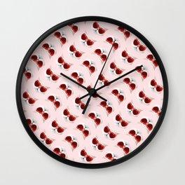 Lord Aries Cat - Pattern 008 Wall Clock
