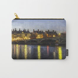 Westminster At Night Art Carry-All Pouch
