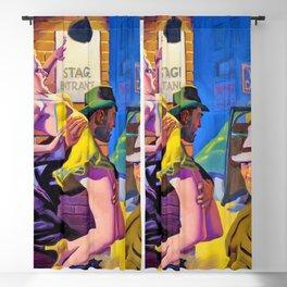 12,000pixel-500dpi - Hugh Joseph Ward - Undercover Man - Digital Remastered Edition Blackout Curtain