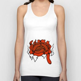 Horrorshow Hot Dog Intestinal Fortitude Unisex Tank Top