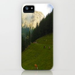 Mountain Side iPhone Case