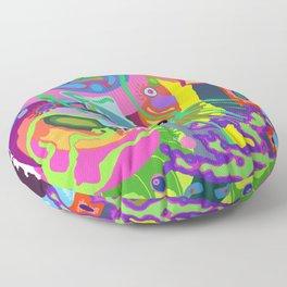 Trippy Squid Floor Pillow