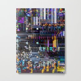 A Study in Pixel 463 - AERICO Metal Print