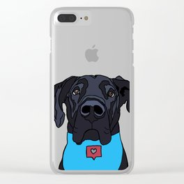 Georgie the Great Dane Clear iPhone Case