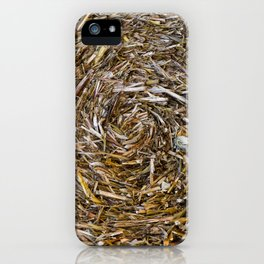 Rolled Hay iPhone Case