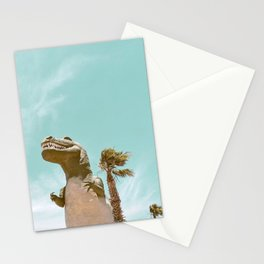 Pastel T-Rex Stationery Cards