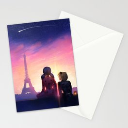 Miraculous in Paris Stationery Cards