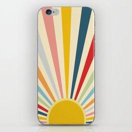 Sun Shines Inside you iPhone Skin