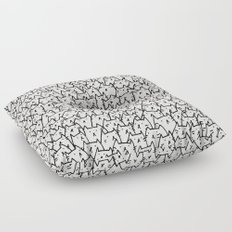 A Lot of Cats Floor Pillow