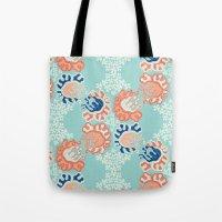 nouveau Tote Bags featuring NOUVEAU by Sarah Doherty
