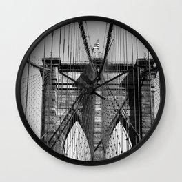 Old Steel Between Us Wall Clock