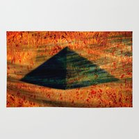 egyptian Area & Throw Rugs featuring Egyptian wind by  Agostino Lo Coco