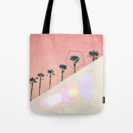 Levitated Mass (Red) Tote Bag