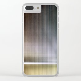 Abstract Lines 3 Clear iPhone Case