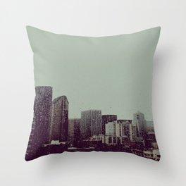 Sleepy Seattle Throw Pillow
