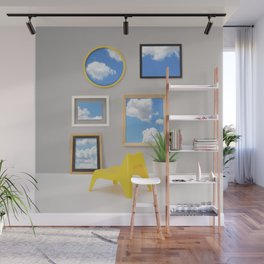 Views from the livingroom Wall Mural