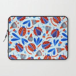 Classic Ladybug Botanical  Laptop Sleeve
