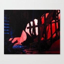 Glitch Space 2 Canvas Print