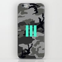 military iPhone & iPod Skins featuring Military - Camouflage by Three of the Possessed